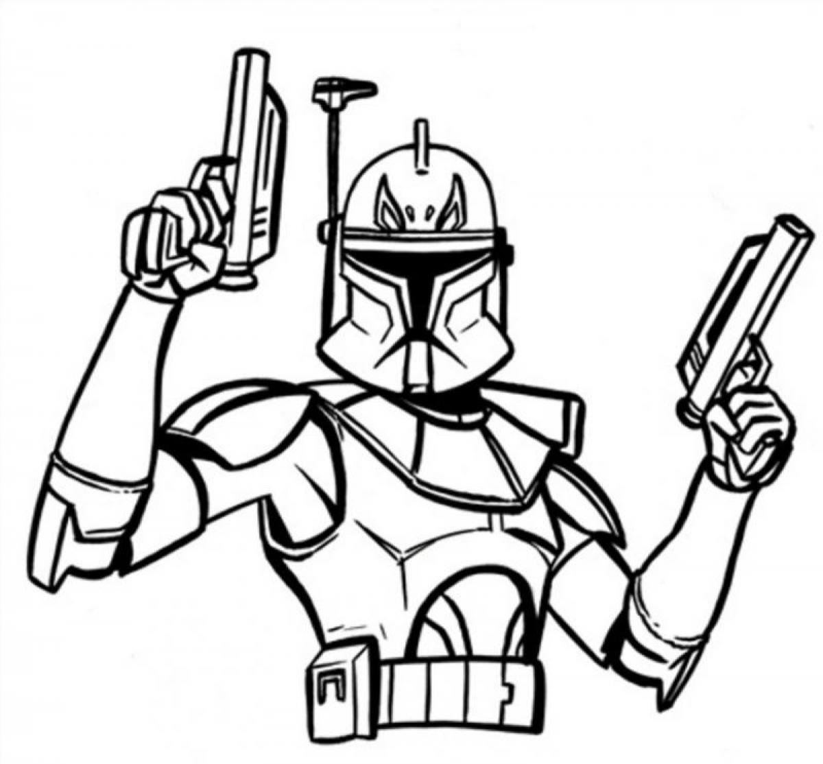 Ausmalbilder Star Wars : Star Wars Cartoon Drawing At Getdrawings Com Free For Personal Use