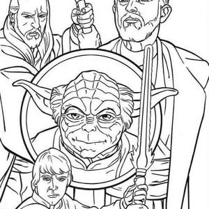 300x300 How To Draw The Star Wars Characters Coloring Page Batch Coloring