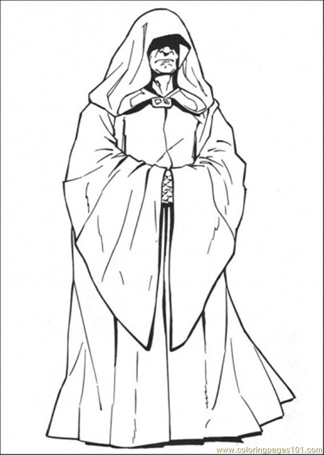 650x912 Star Wars Character 6 Coloring Page