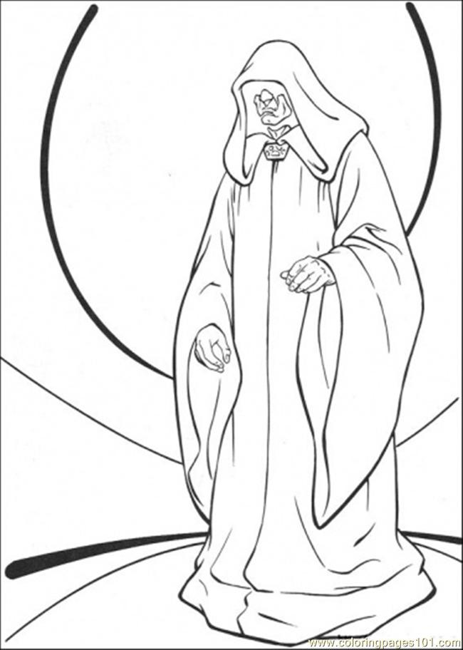 650x912 Star Wars Character 8 Coloring Page