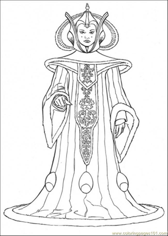 650x912 Star Wars Character 9 Coloring Page