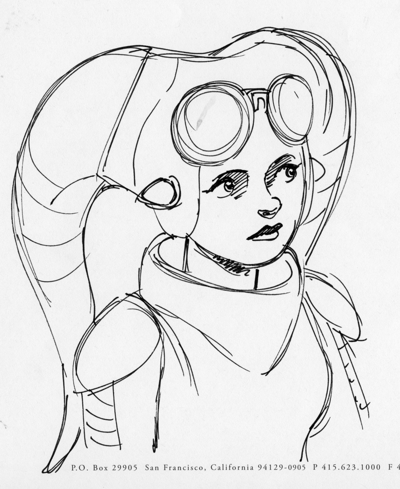 1637x2002 Star Wars Characters Drawings