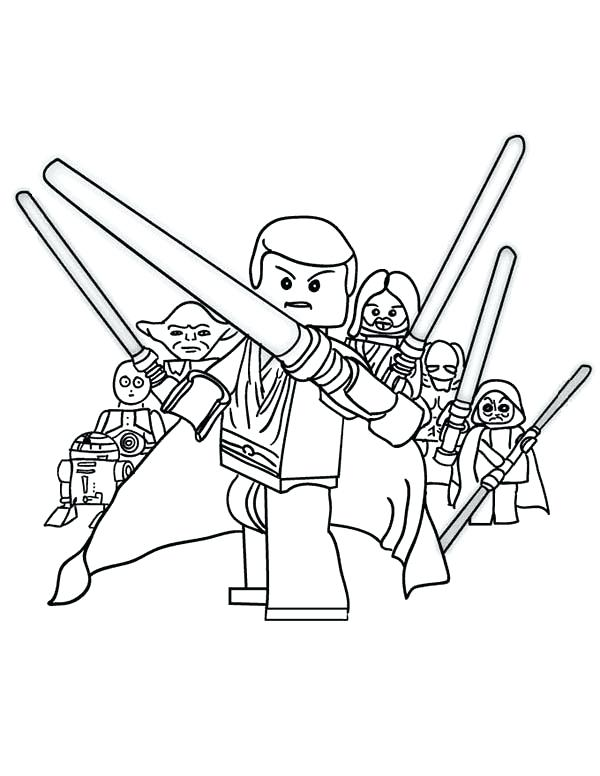 600x776 Lego Star Wars Pictures To Print And Color Star Wars Coloring