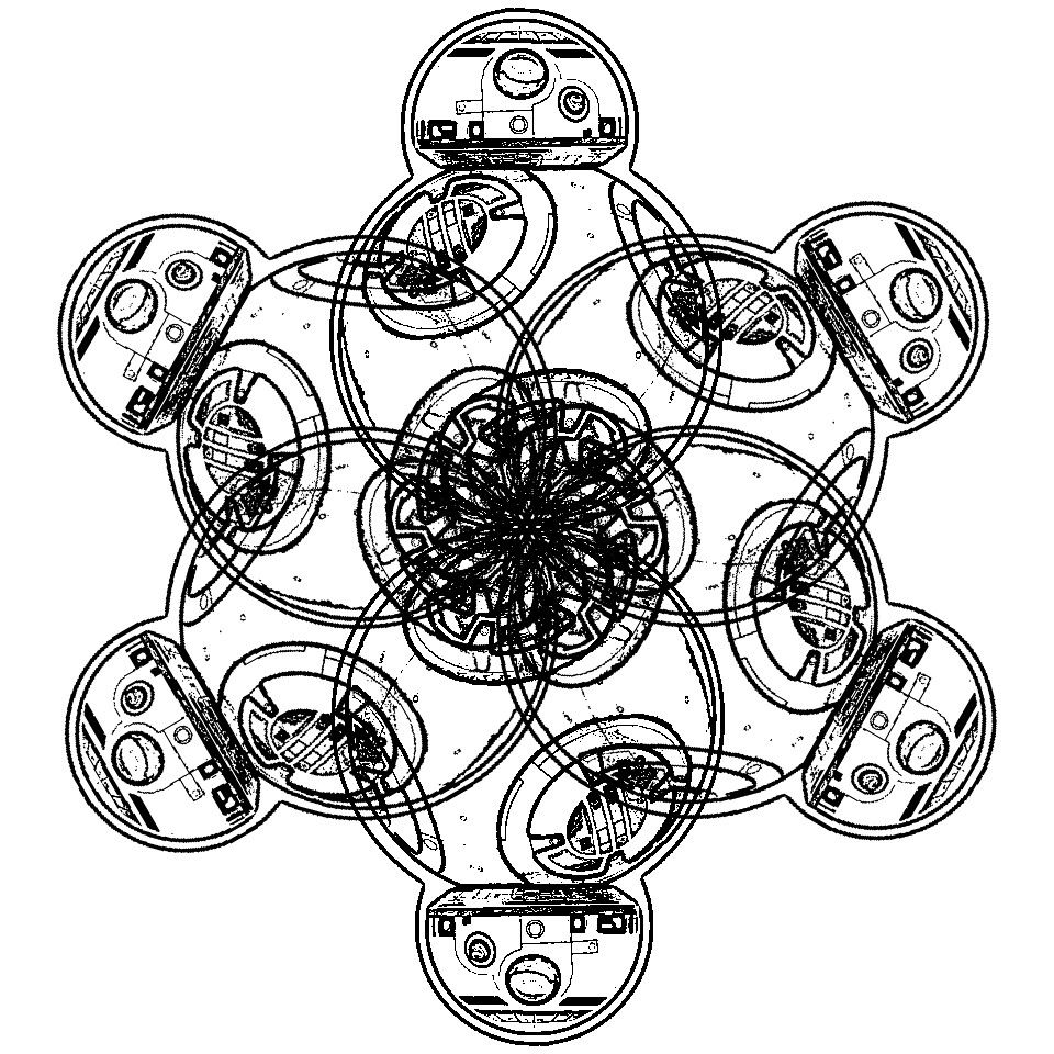960x960 Easy Star Wars Snowflakes And Mandalas To Print And Color