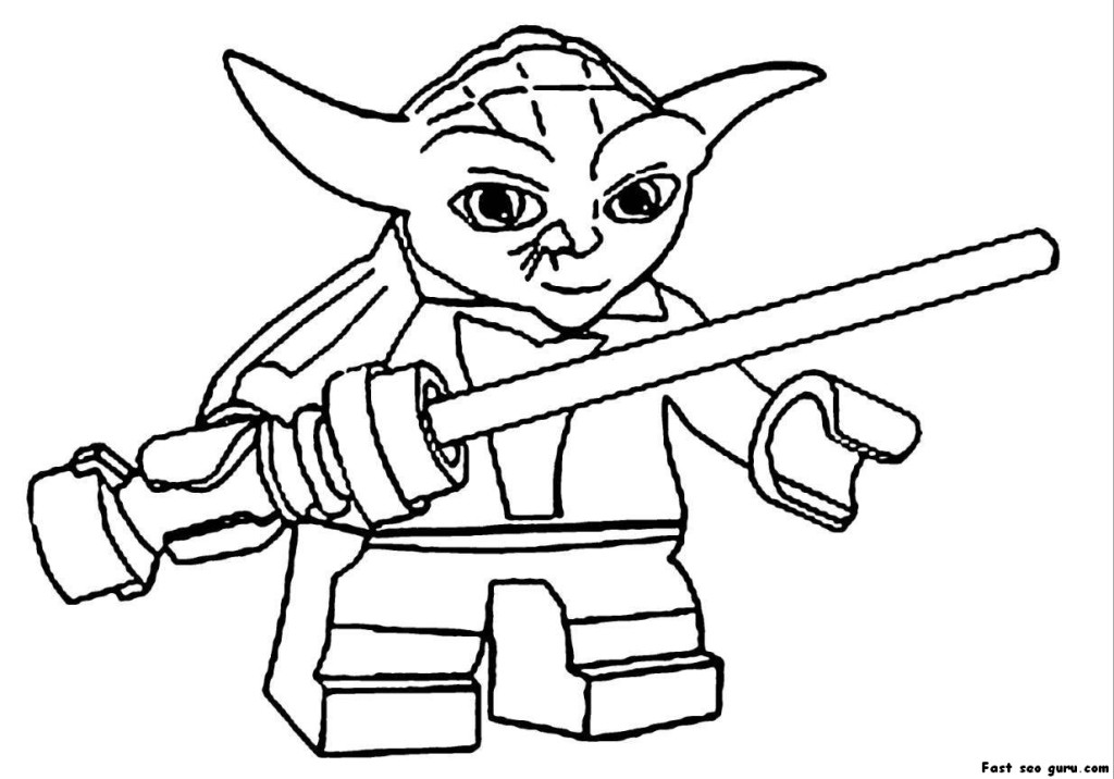 1024x716 Star Wars Lego Coloring Pages