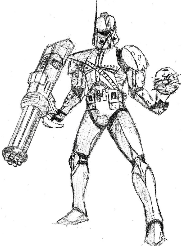 Star Wars Clone Drawing at GetDrawings.com | Free for ...