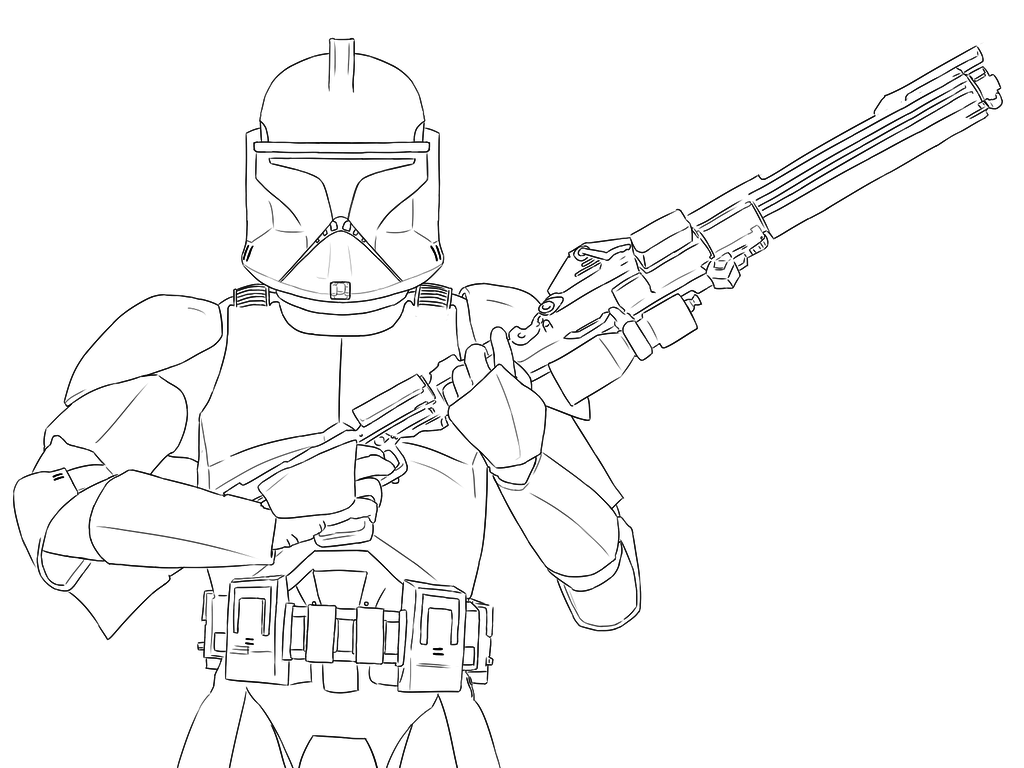 1024x768 Clone Trooper By Tinacoolart