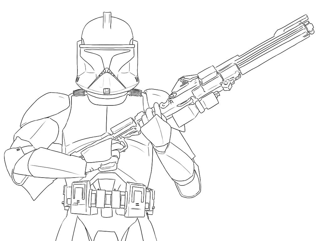 Star Wars Clone Trooper Drawing at GetDrawingscom Free for
