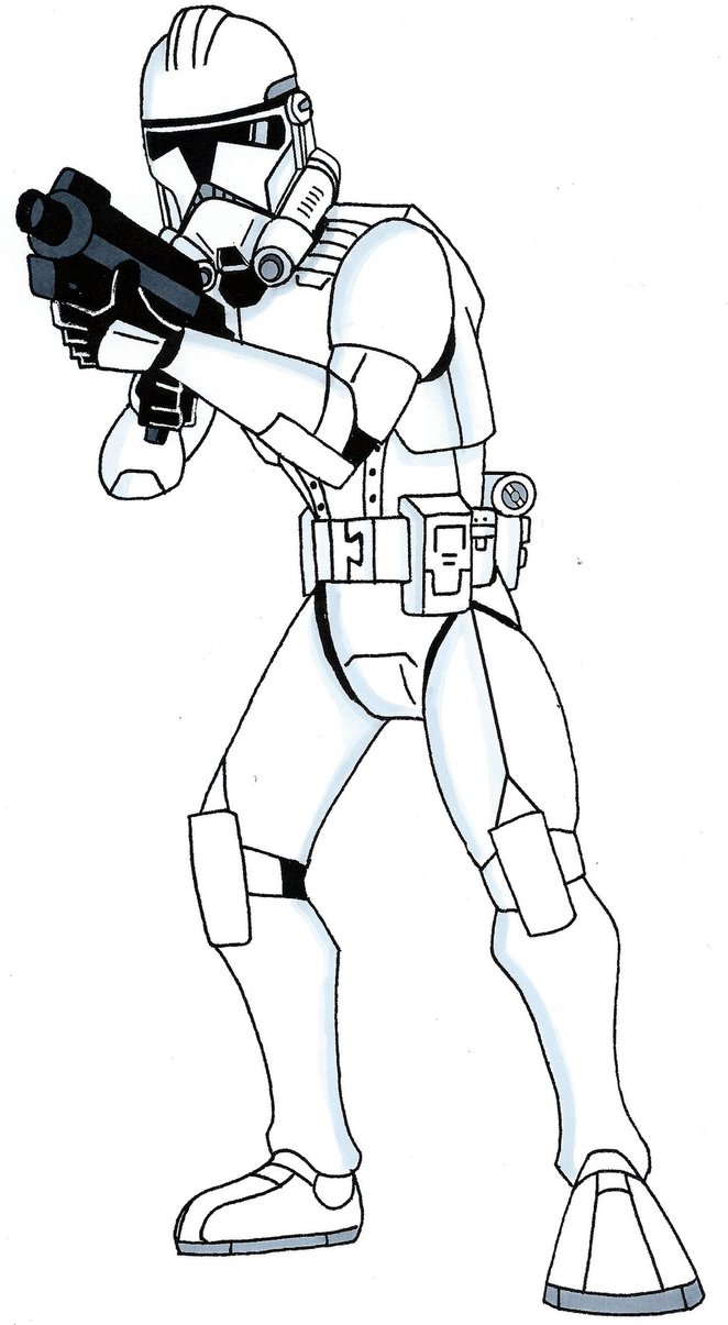 662x1205 Phase Ii Clone Trooper Art Works Clone Trooper