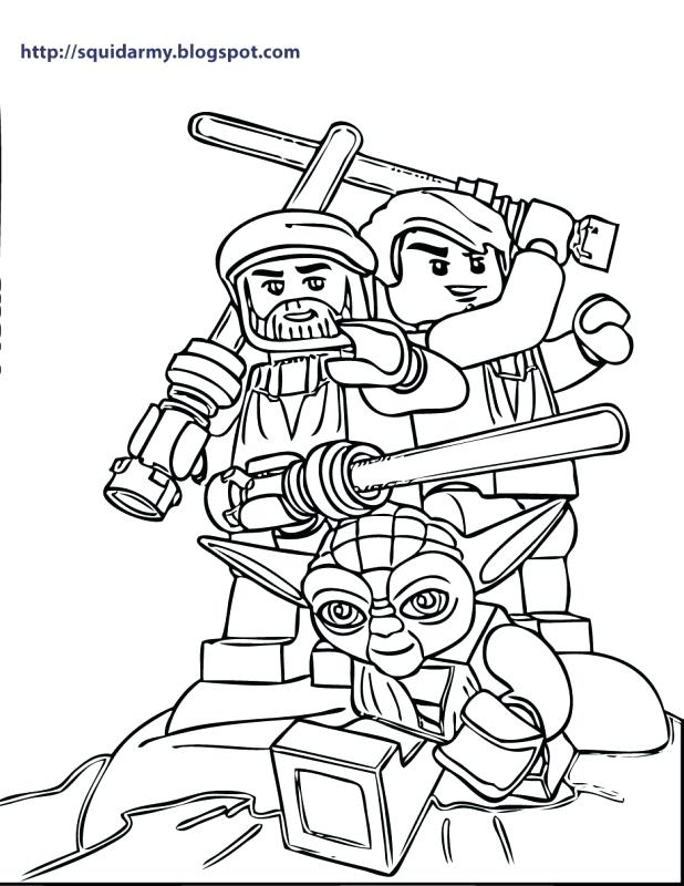 618x800 Star Wars Clone Coloring Pages Star Wars Iii The Clone Wars