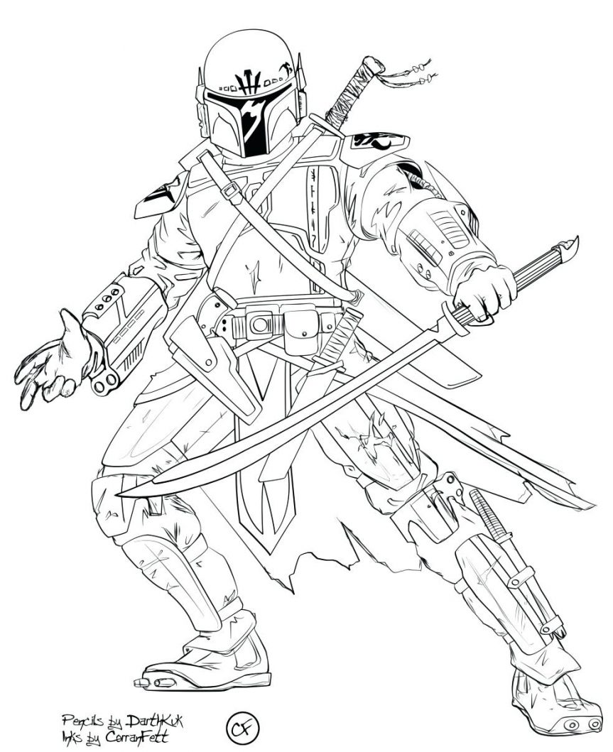 863x1059 Star Wars Clone Trooper Coloring Pages Erf Coloring