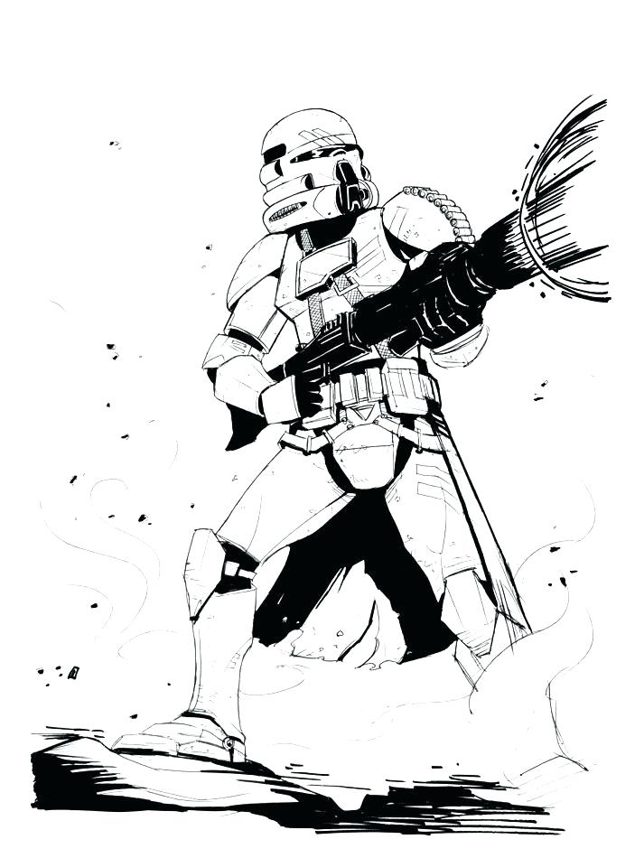 713x950 Star Wars Clone Trooper Coloring Pages Clone Trooper Coloring Page