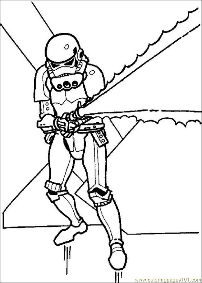 650x909 Star Wars Clone Trooper Coloring Pages On Star Wars Coloring Pages