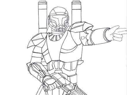 440x330 Star Wars Troops Coloring Page Click The Clone Troopers Pages