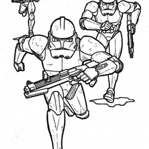 300x300 The Clone Trooper Drawing In Star Wars Coloring Page Batch Coloring