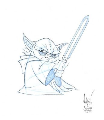 Star Wars Clone Wars Drawing