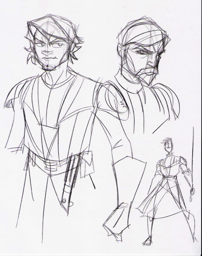 834x1052 Clone Wars Anakin And Obiwan By Hodges Art