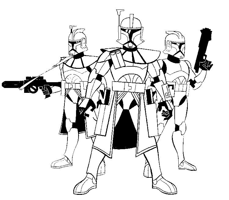 Star Wars Clone Wars Drawing At Getdrawings Free Download