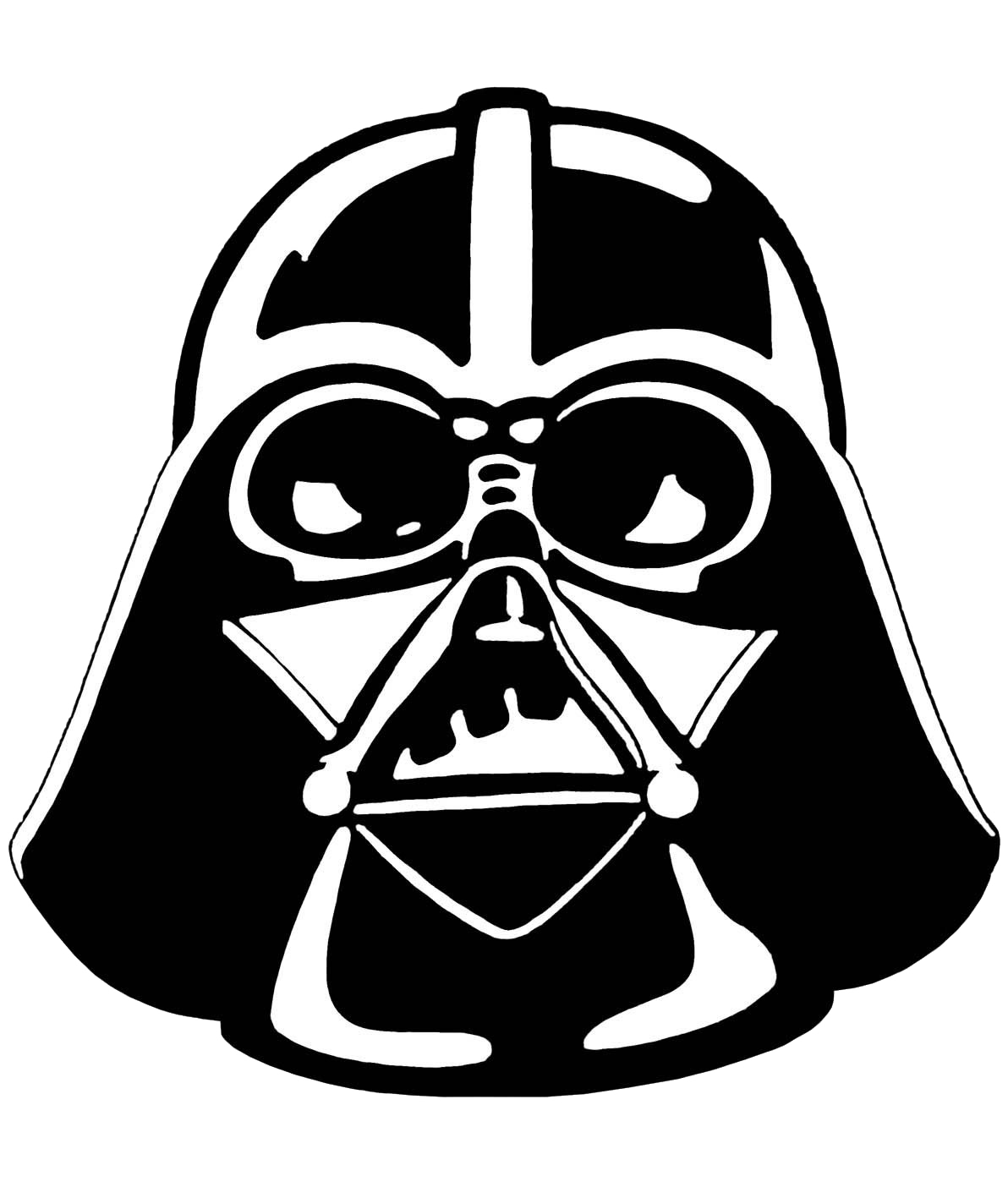 1192x1404 Darth Vader Stencil Star Wars Clipart
