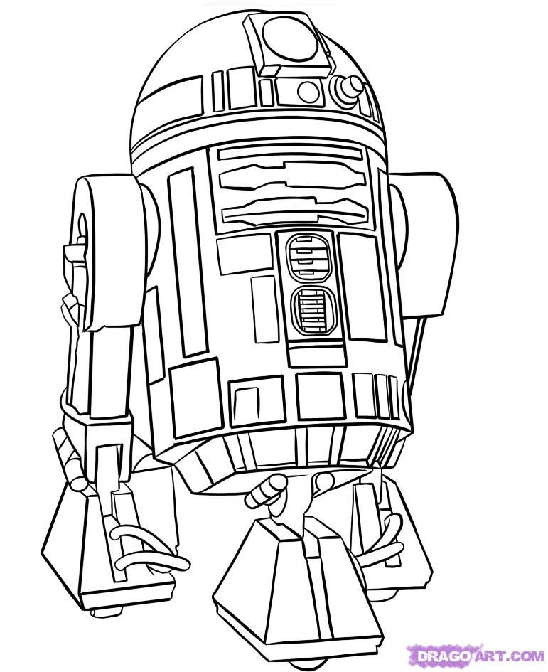 771x945 Drawing How To Draw Star Wars The Force Awakens With How To Draw