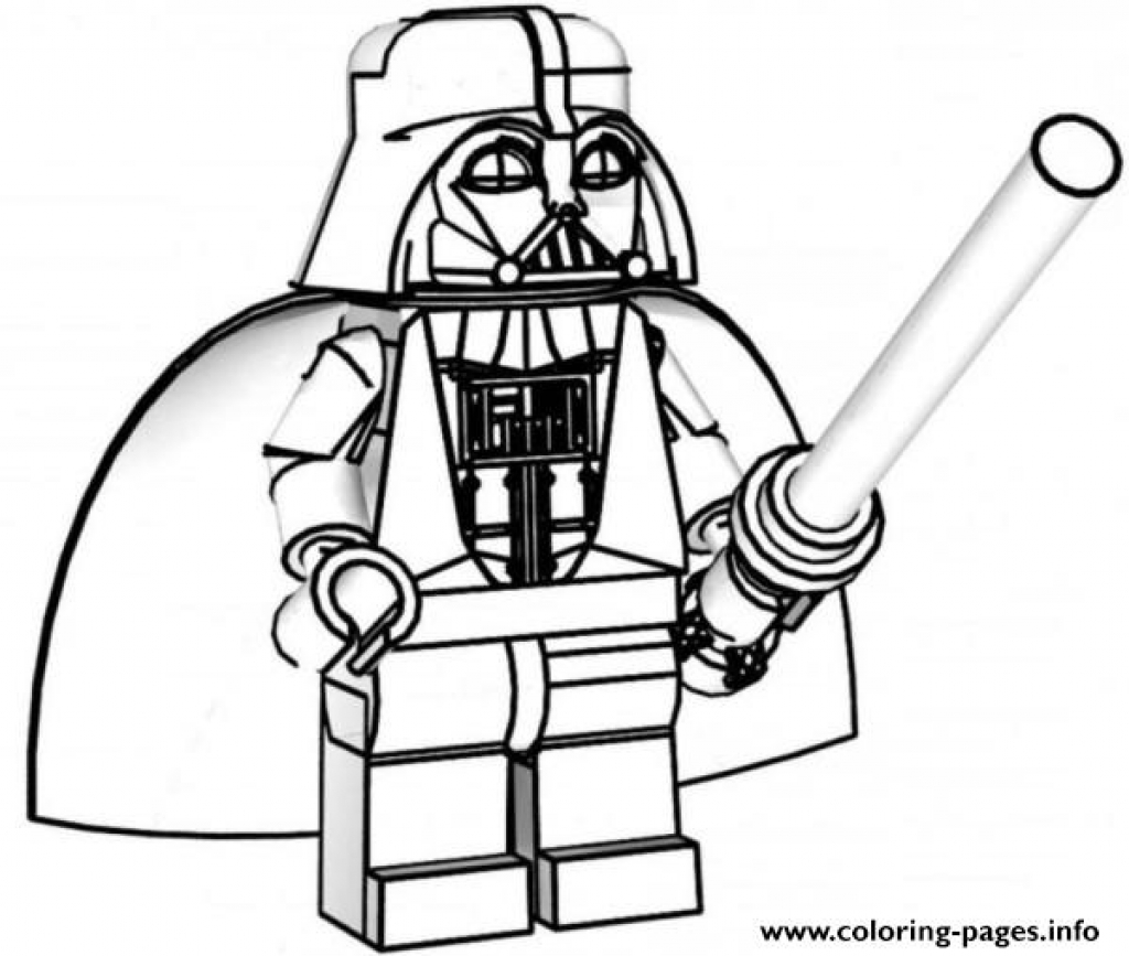 1024x867 Lego Star Wars Coloring Pages Darth Vader Coloring Pages Printable