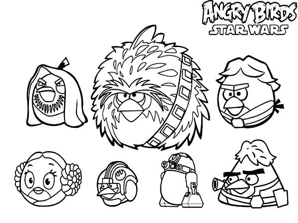 600x450 Angry Birds Star Wars Coloring Book Drawing Angry Birds Star Wars