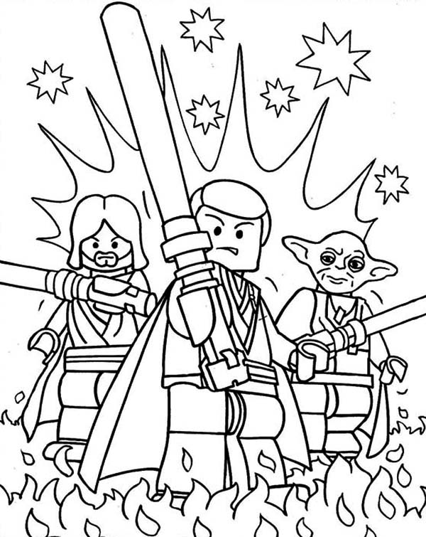 600x755 Awesome Lego Of Star Wars Characters Coloring Page Awesome Lego