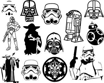 340x270 Star Wars Clipart Etsy