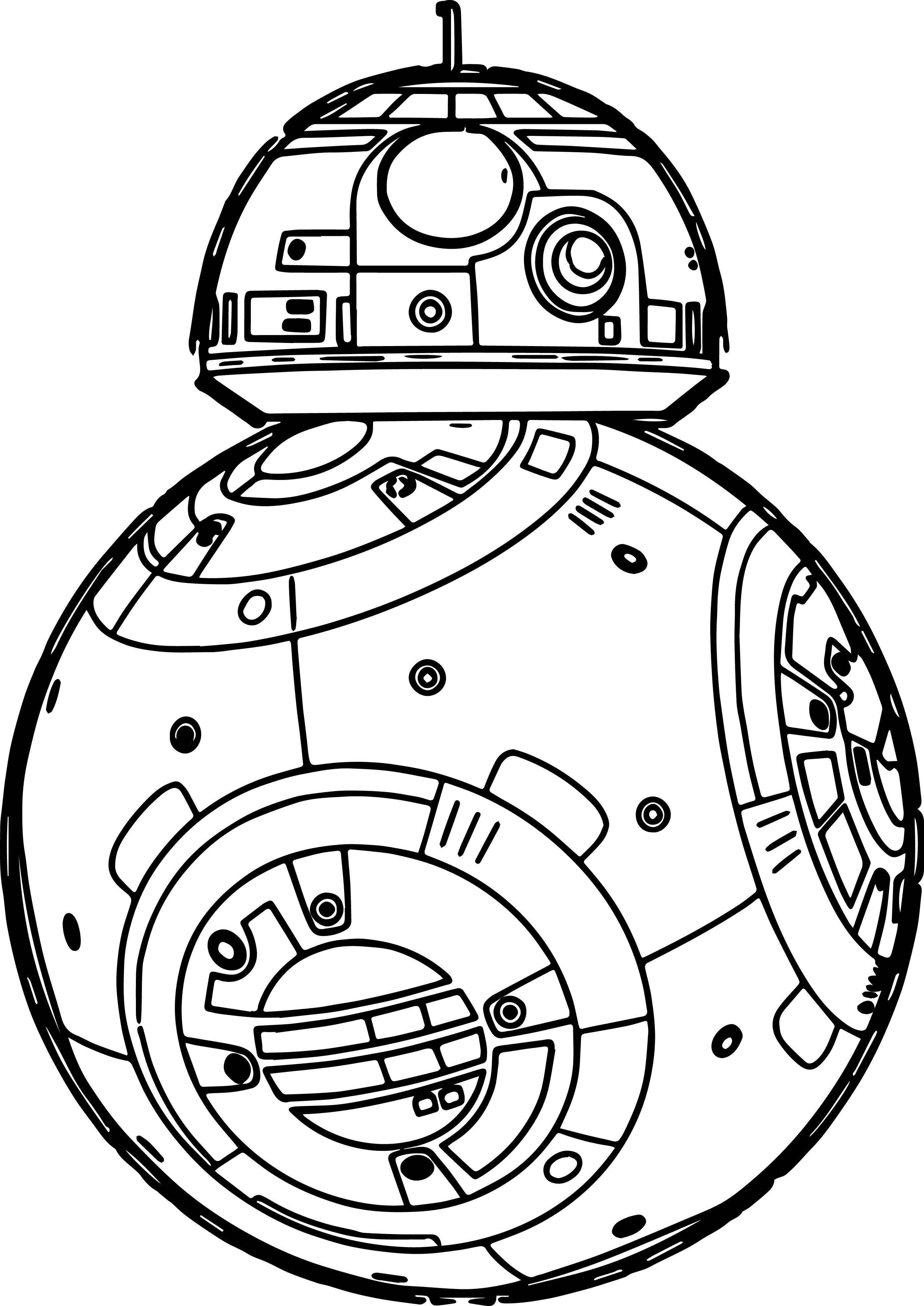 2774x3921 Characters In Star Wars Coloring Book