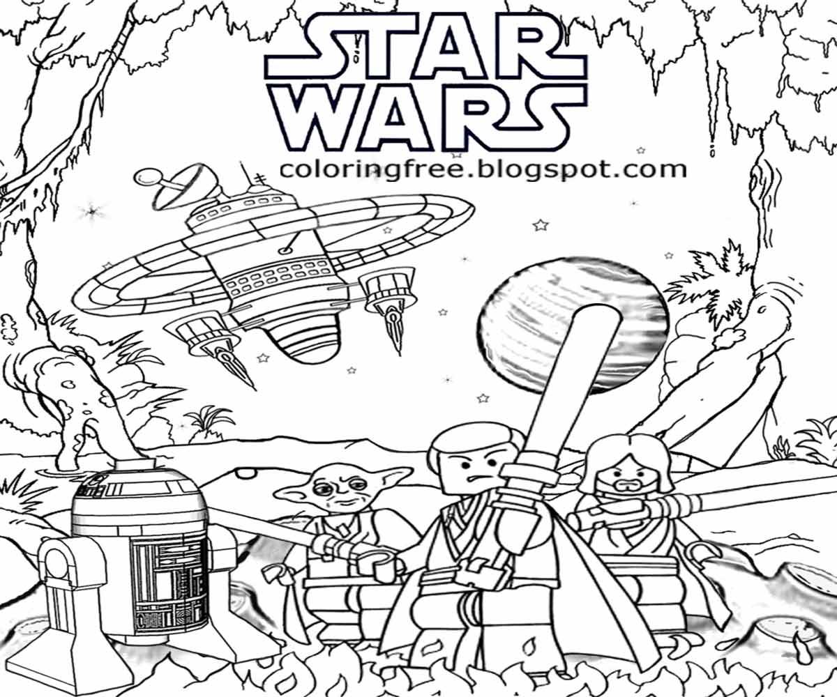Star Wars Lego Drawing at GetDrawings