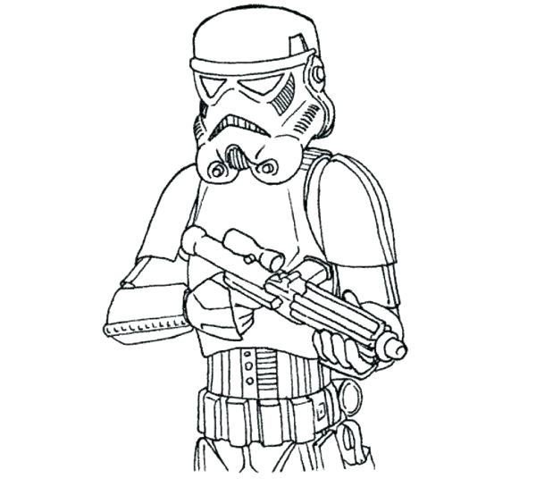 600x554 Best Star Wars Coloring Pages Boba Fett Of Page Line Drawing Easy