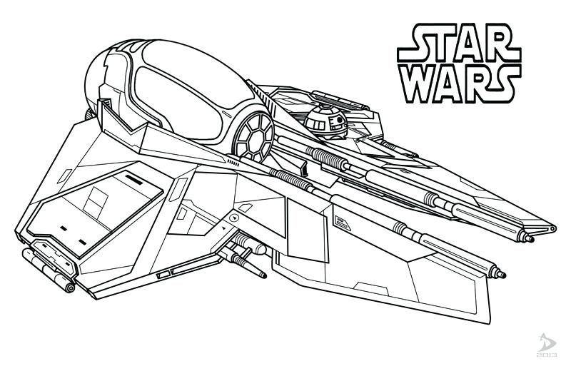 800x520 Star Wars Ships Coloring Pages