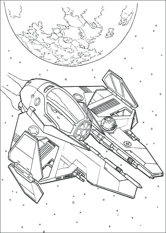 567x794 Battleship Coloring Pages Star Wars On Star Wars Ship Coloring