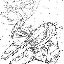 220x220 Spaceships War Coloring Pages