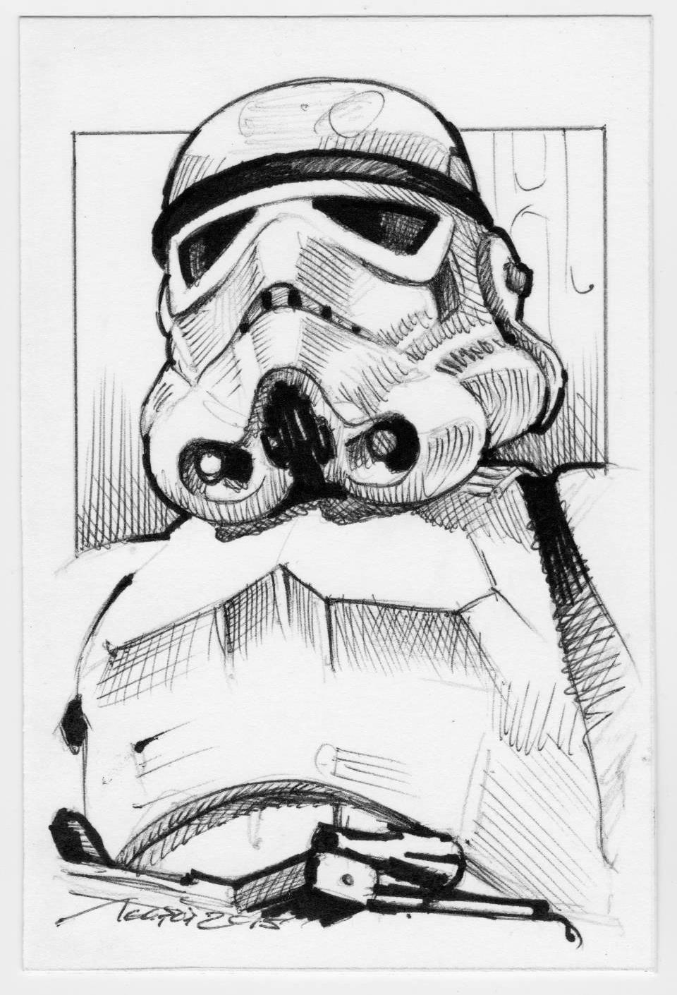 960x1410 Star Wars Stormtrooper By Agapop