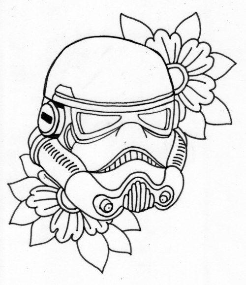 500x579 Star Wars Stormtrooper Body Art Tattoo, Tattoo