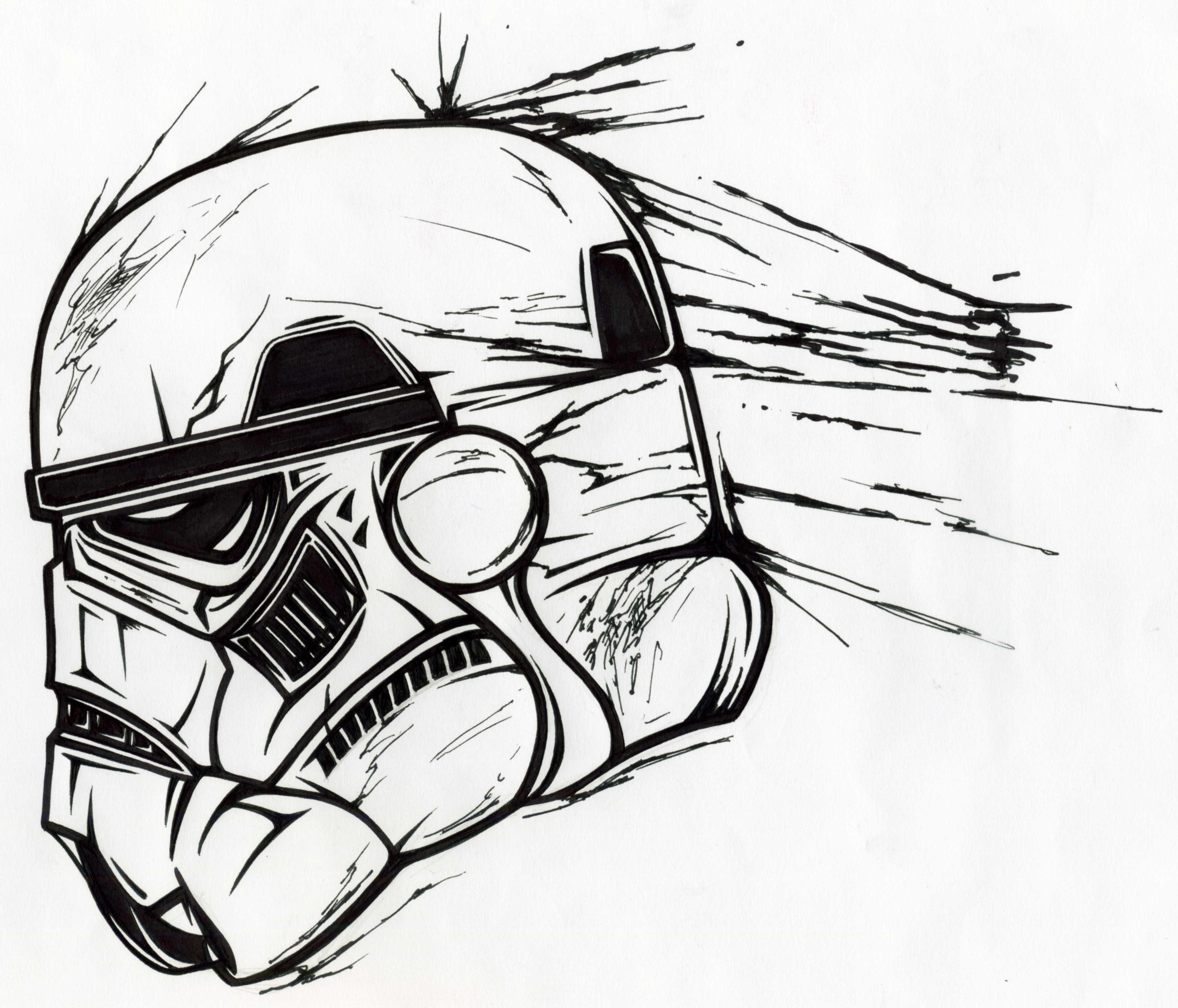 4602x3940 Stormtrooper Helmet By Manu17acdc