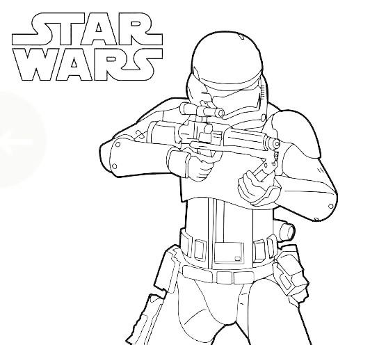 Star Wars Stormtrooper Drawing at GetDrawings | Free download