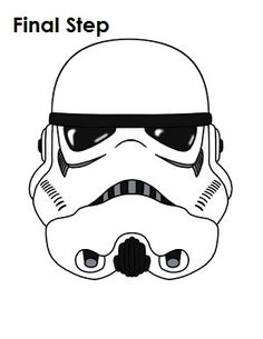 236x305 How To Draw Stormtrooper Star Wars Completed Drawing Tutorials