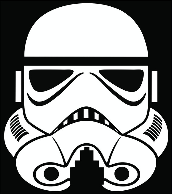 568x640 Free Shipping Stormtrooper Wall Sticker Decal Star Wars Empire Car