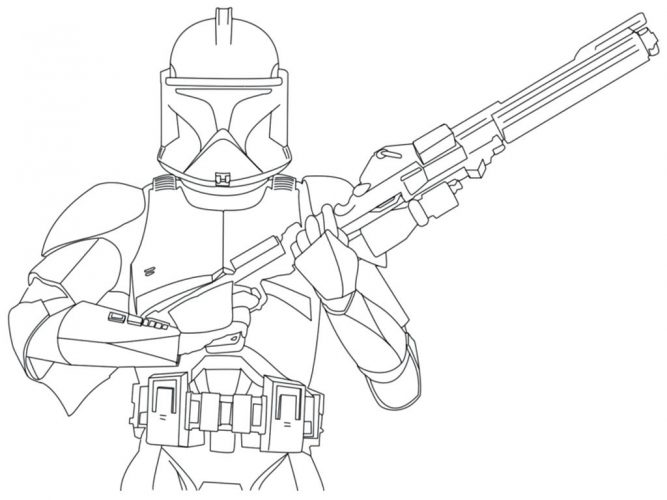 667x500 Coloring Page Star Wars The Clone Wars Coloring Pages. Star Wars