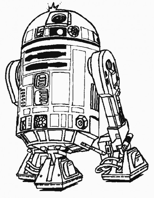 520x667 Star Wars Printable Coloring Pages Hubpages