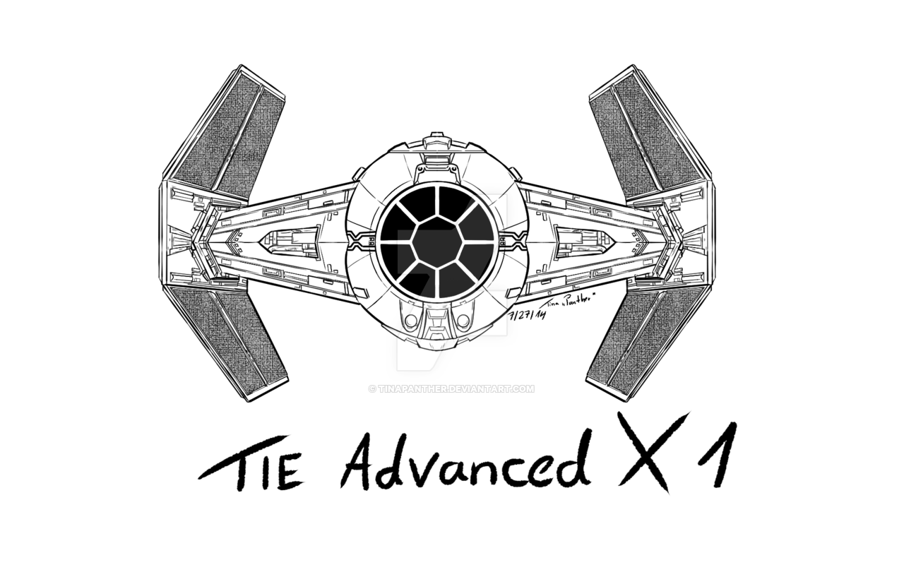 1280x800 Star Wars Tie Fighter X1 By Tinapanther