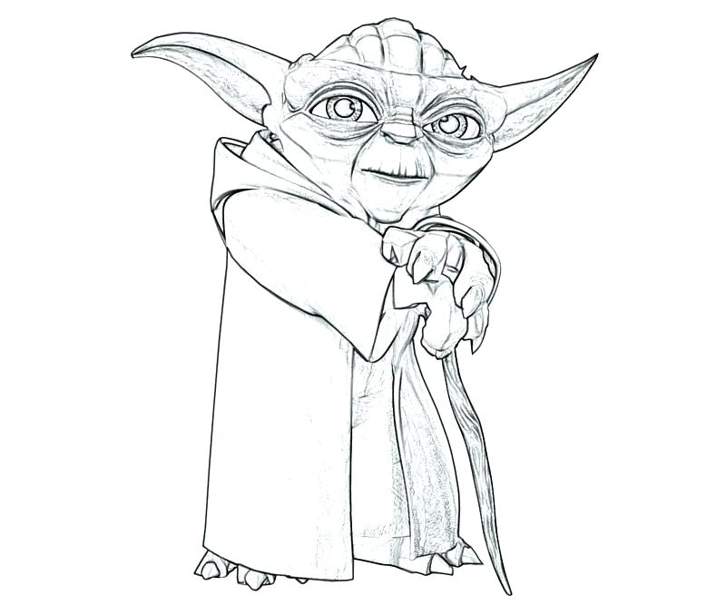 Star Wars Yoda Drawing at GetDrawings