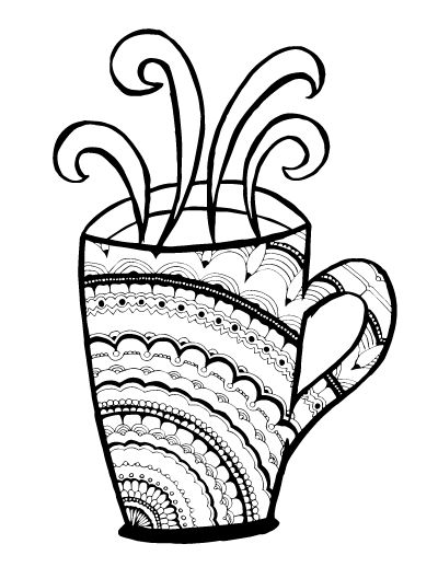 Starbucks Coffee Drawing at GetDrawings Free for