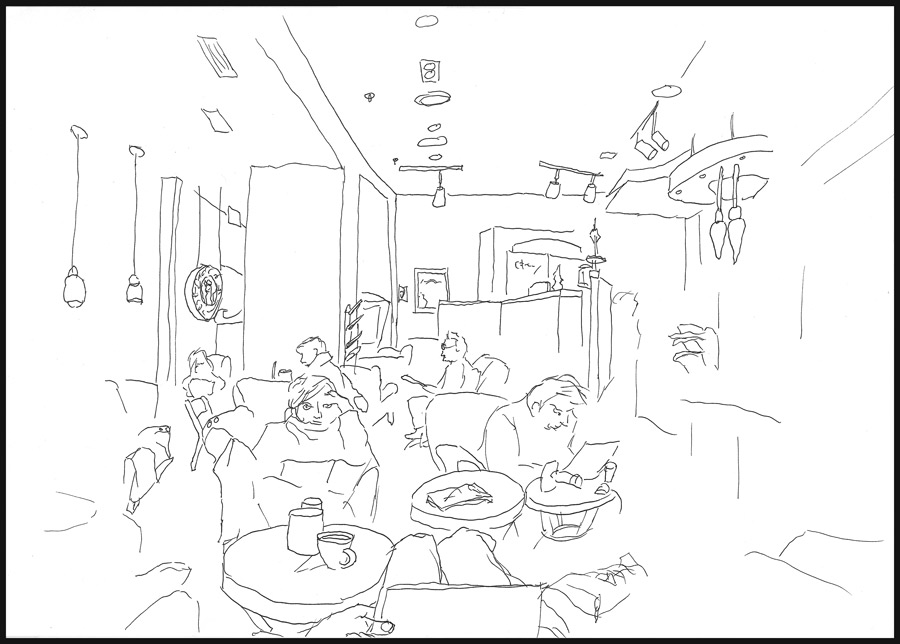 900x644 Quick Sketch 7 Starbucks By Bobris