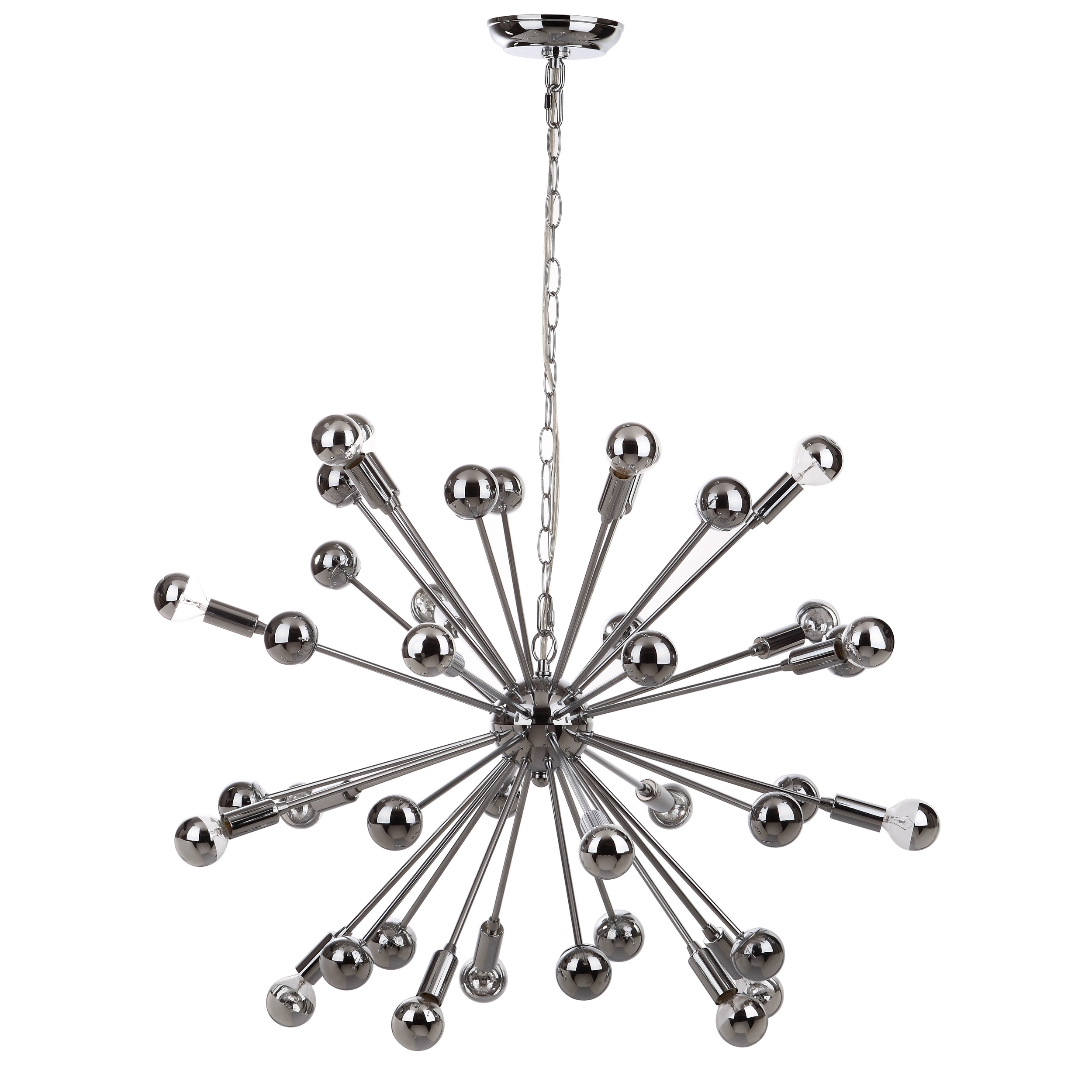2500x2500 Safavieh Lighting 31 Inch Starburst Sputnik 20 Light Chrome