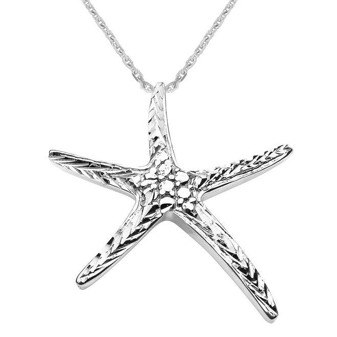 659x659 Starfish Pendants Gold Starfish Pendants Silver Starfish