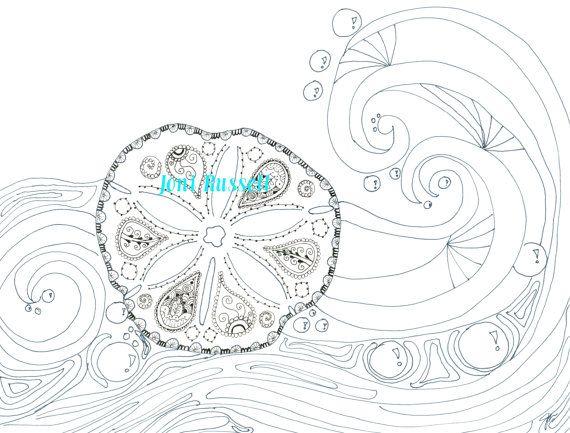 Starfish Pencil Drawing