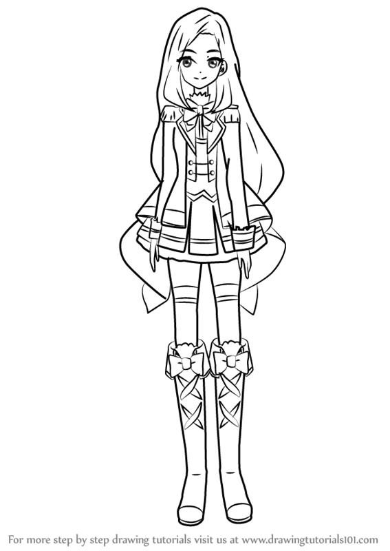 567x800 Learn How To Draw Yozora Kasumi From Aikatsu Stars! (Aikatsu Stars